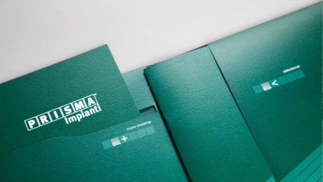 Folder e catalogo Prisma Impianti