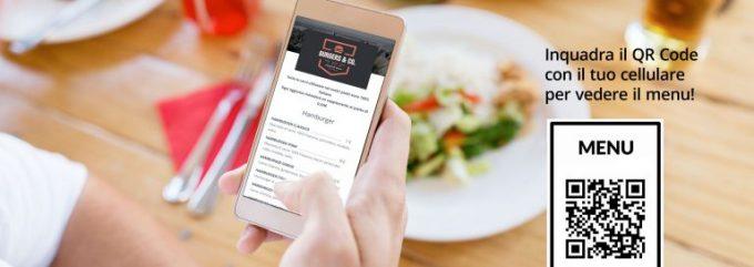 Qr Code menu digitale